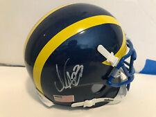 Nasir Adderly Delaware Blue Hens signed mini football helmet 2019 NFL Draft!
