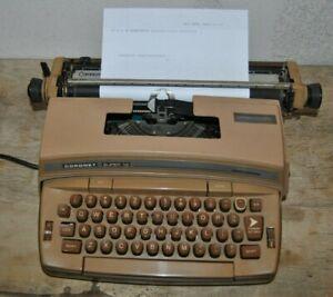 Vintage Coronet Super 12 Electric Typewriter Smith Corona Model 6LEF Tested