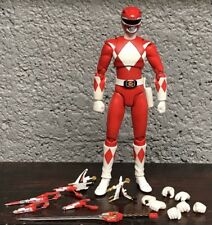 SH Figuarts Red MMPR Power Rangers Figure 99% Complete Rare Mighty Morphin 2013