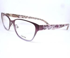 Kenzie Eyeglasses Collage LA Purple Women  52-15-135 New Frame Plastic Metal