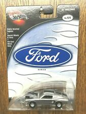 Hot Wheels 100% '67 Mustang silver Ford Series