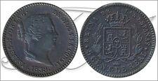 España - Monedas Isabel II- Año: 1859 - numero 00012 - S/C 5 Centimos de Real 18