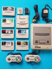 Super Nintendo Spielekonsole,NES,Super Gameboy + 8 Top Spiele orig. 2 Controller