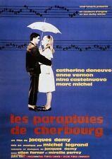LES PARAPLUIES DE CHERBOURG Affiche Cinéma Movie Poster 53x40 Catherine Deneuve