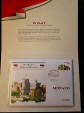 """Numisbrief Monaco 2015, """"800 Jahre Festung"""" mit 2 Euro 2015"""