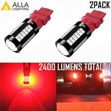 Alla Lighting 33-LED 3156 Vivid Red Turn Signal Light Bulb Super Bright Blinker