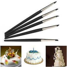 5 pcs/pack Fondant Cake Decorating Flower Sugar Craft Modelling Tools silicon