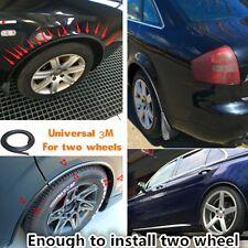 Car Fender Extension Wheel Black Eyebrow Protector Lip Wheel-Arch 118'' PVC