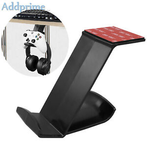 No Drilling Game Controller Headphone Under Table Hanger Mount for PS4/PS5/XBox