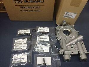 Genuine Subaru 11mm 2.5L Oil Pump w/ Bolts & Seals WRX STi Turbo Oem IMPREZA 2.0