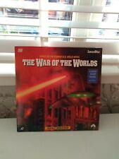 THE WAR OF THE WORLDS LASER DISC