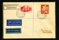 Germany Bellung 1944 Dual Cover w/ Italian Stamp