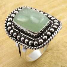 Size 11 Ring LATEST STYLE 925 Silver Plated Unseen Aventurine WHOLESALE PRICE
