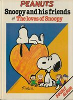 Snoopy And His Friends & The Loves of Snoopy Double Hardcover Album 1978