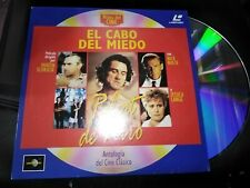 EL CABO DEL MIEDO LASER DISC ROBERT DE NIRO
