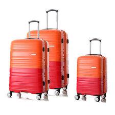 3PCS Luggage Set Hardside Spinner Trolley TSA Lock Travel Carryon Bag Expandable
