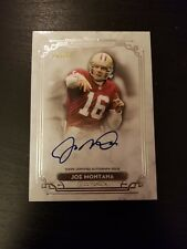 2013 Topps Museum Joe Montana Auto /55 San Francisco 49ers HOF On Card Autograph