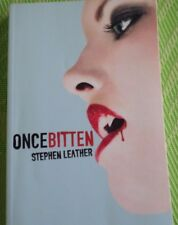 Once Bitten by Stephen Leather (2011, Paperback, Unabridged)