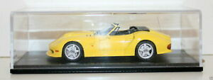 SPARK 1/43 S0787 MARCOS LM 500 CONVERTIBLE 1996 YELLOW
