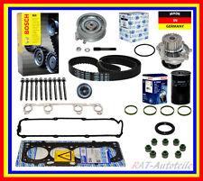 Zylinderkopfdichtungsatz Zahnriemensatz Wasserpumpe GK Germany Ölfilter VW
