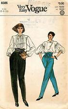 1970's VTG VOGUE Misses' Pants and Sash Pattern 8386 Size 6-10 UNCUT