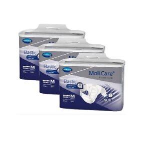 78 x (3 x 26 pcs) Molicare Premium Elastic Medium Pants 9 Drops Unisex 85-120cm