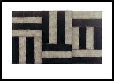 Sean Scully DURANGO Poster Art Imprimé Image dans le cadre alu noir 70x100cm