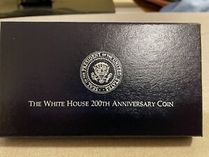 1992 White House 200th Anniversary Coin - Proof Silver Dollar