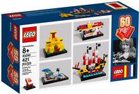 Lego ® Boite Neuve Les 60 ans du Lego Brique Anniversaire Collector 40290 NEW
