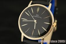 Luch De Luxe 2209 Luxury style Rare Golden dial ultra slim wrist watch NOS!