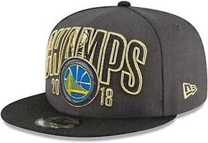 GOLDEN STATE WARRIORS New Era 9FIFTY 2018 NBA Finals Champs SnapBack Hat (*NEW*)
