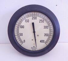 Vintage Steam Punk Pressure Gauge Jas. P Marsh 400 lbs psi