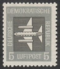 *1p SALE* Germany - East, 1957 AIR 5pf. SG E350 Unmounted Mint MNH. Cat £5.00