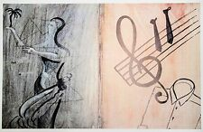 Sigmar Polke: Transit, 1985. Signed, Numbered, Offset Lithograph,Fine Art Print.
