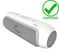AZATOM STORM WHITE Power 24Watt Bluetooth iPod iPhone Android portable speaker