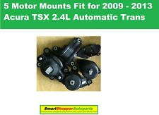 5pcs Motor Mounts Fit for 2009 2010- 2013 Acura TSX 2.4L Automatic Transmission