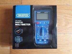 Draper 41817 Digital Multimeter Electrical Electronics Tester Testing Tool AC/DC