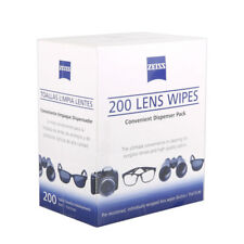 Zeiss X200 Pre-Moistened Lens Optic Camera Cleaning Wipes tissue fit Leica ect