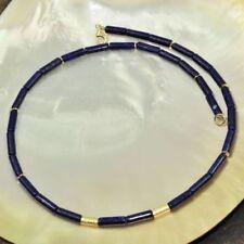 Halsketten mit Edelsteinen Sets mit Lapis Lazuli-Hauptstein für Damen