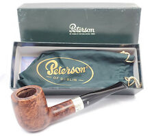 "PETERSON'S X105 4th of July 2000 ""Dublin"" Sterling Fishtail  UNSMOKED NEW IN BOX"