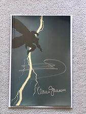 The Dark Knight Returns Foil signed Miller & Jansen w/COA