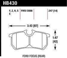 Hawk Performance HB430N.547 Rear High Performance Brake Pads