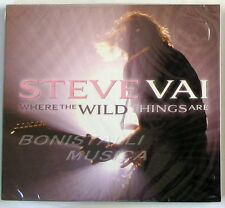 STEVE VAI - WHERE THE WILD THINGS ARE - CD Sigillato