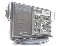 VTG Panasonic RF-2800 SW Double Superheterodyne Shortwave Radio AM/FM As Is