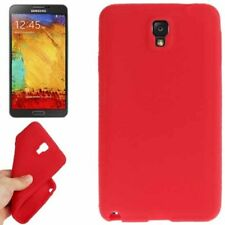 Silikon Case Pure Colour für Samsung N9000 Galaxy Note 3 in rot Etui Hülle Cover