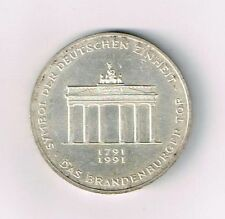 200 Jahre Brandenburger Tor In 10dm Gedenkmünzen Der Brd Günstig