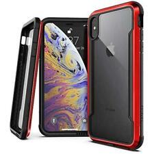 X-Doria Defense Shield Case for iPhone XS Max Samsung Galaxy S10 Red