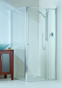 Glass Shower Screen Pivot Door 1400mm - 1460mm