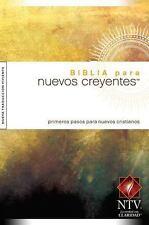 Biblia para Nuevos Creyentes NTV (2014, Paperback)