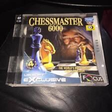 CHESSMASTER 6000 PC CD ROM Jeu Jewel Case version